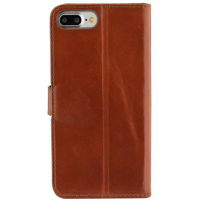 Valenta - Premium Booklet iPhone 8 Plus/7 Plus brown 02