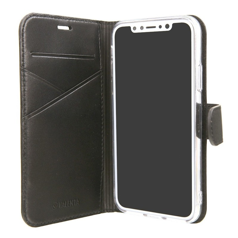 Valenta Booklet Premium iPhone X/Xs Black - 5