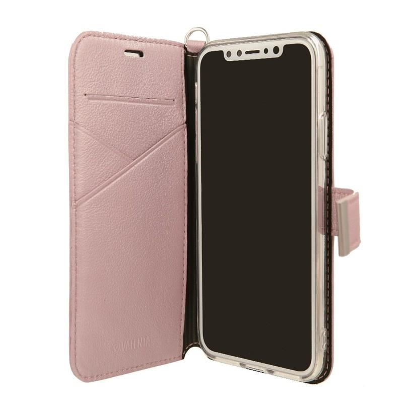 Valenta Booklet Premium iPhone X/Xs Rose Gold - 2