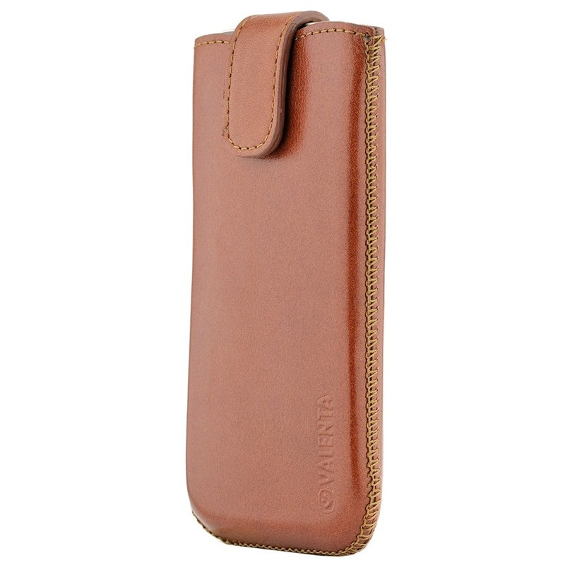 Valenta Lucca Pocket Case iPhone 8/7/6S/6 brown 01
