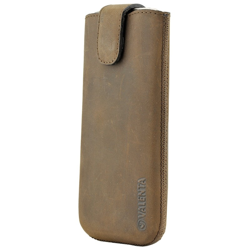 Valenta Lucca Pocket Case iPhone 8/7/6S/6 vintage brown 01