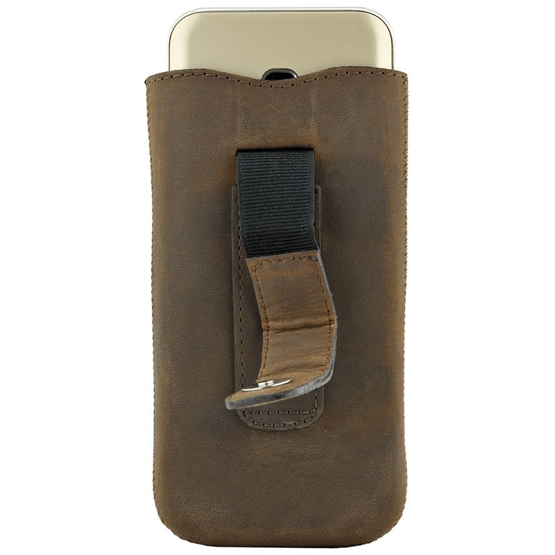 Valenta Lucca Pocket Case iPhone 8/7/6S/6 vintage brown 04