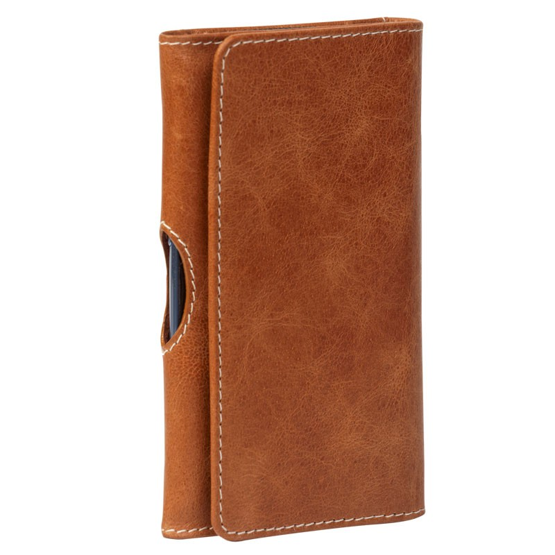 DBramante Leather Wallet iPhone SE/5S/5 4.3 inch Golden Tan - 3