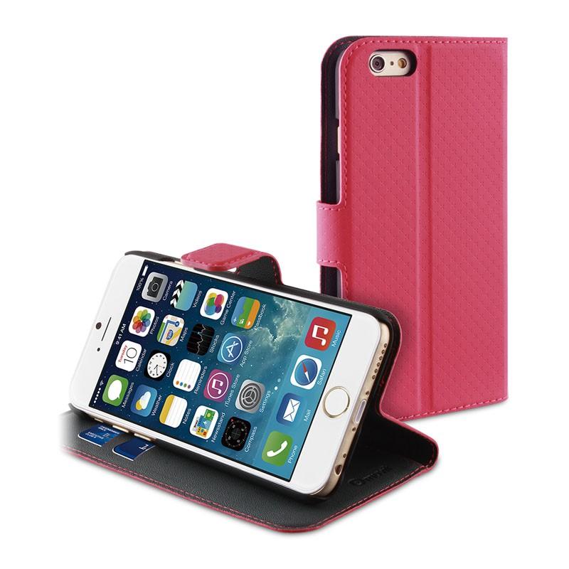Muvit Wallet Case iPhone 6 Plus Pink - 1