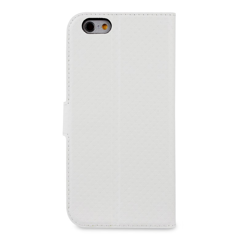 Muvit Wallet Case iPhone 6 Plus White - 2
