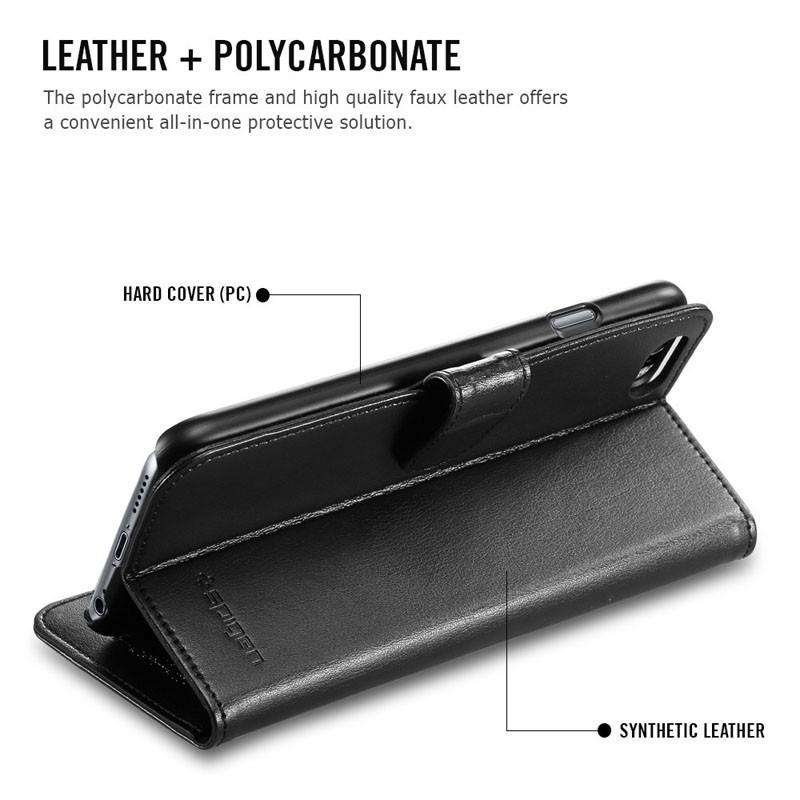 Spigen Wallet S Case iPhone 6 Black - 2