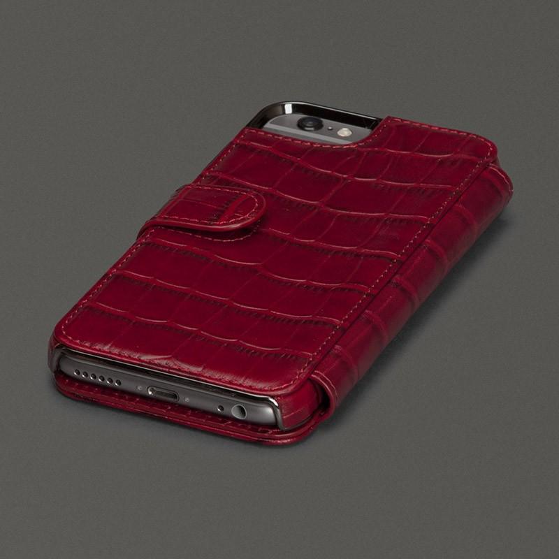 Sena Wallet Book Classic iPhone 6/6S Pebble Caramel - 2