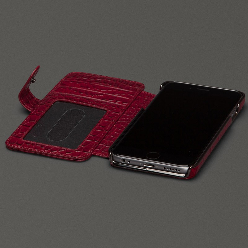 Sena Wallet Book Classic iPhone 6/6S Pebble Black - 6