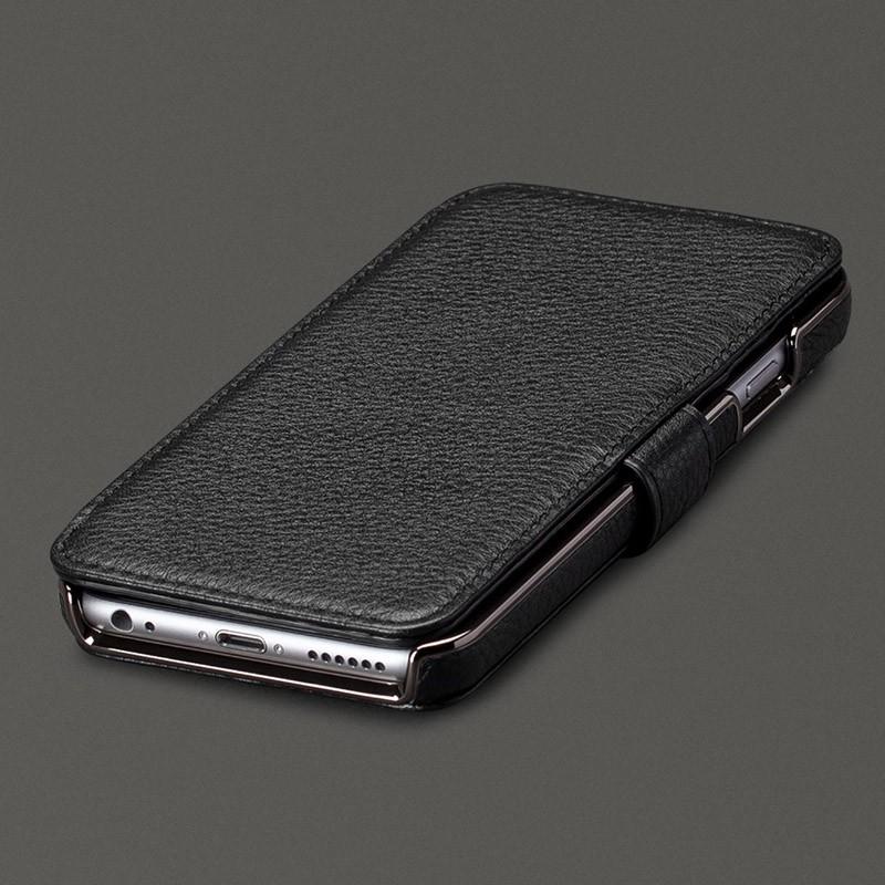 Sena Wallet Book Classic iPhone 6/6S Pebble Black - 1