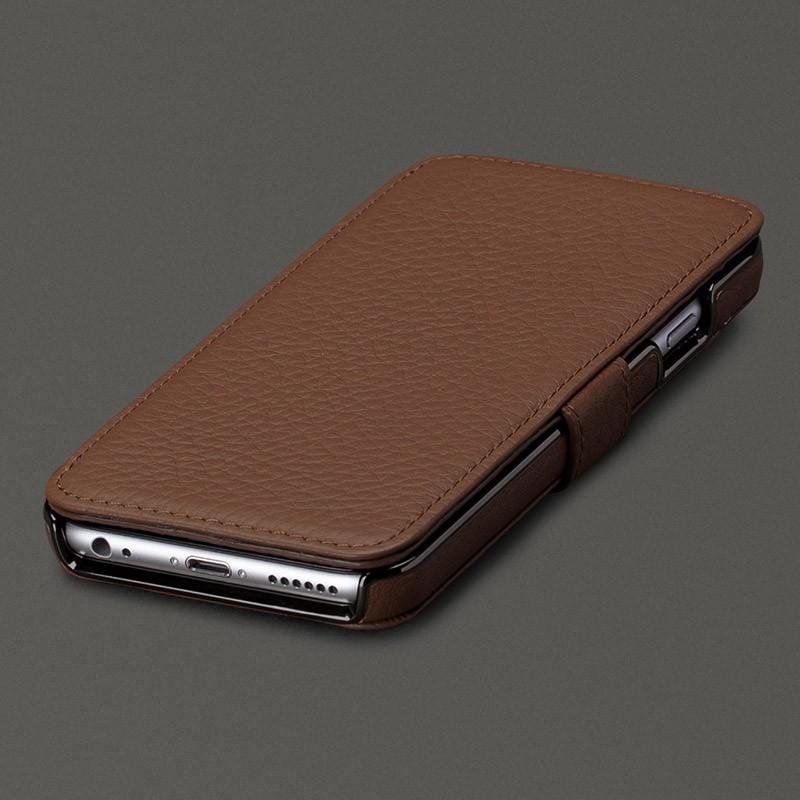Sena Wallet Book Classic iPhone 6/6S Pebble Caramel - 1
