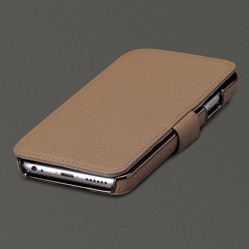 Sena Wallet Book Classic iPhone 6/6S Pebble Stone - 1
