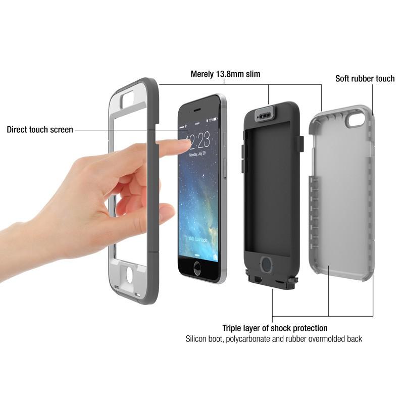 Dog and Bone Wetsuit Phone 6 Plus Black - 6