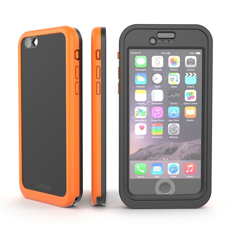 Dog and Bone Wetsuit Impact iPhone 6 Plus / 6S Plus Orange - 1