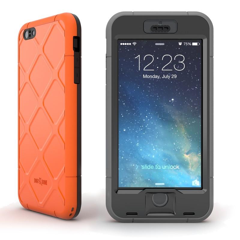 Dog and Bone Wetsuit Phone 6 Plus Orange - 1