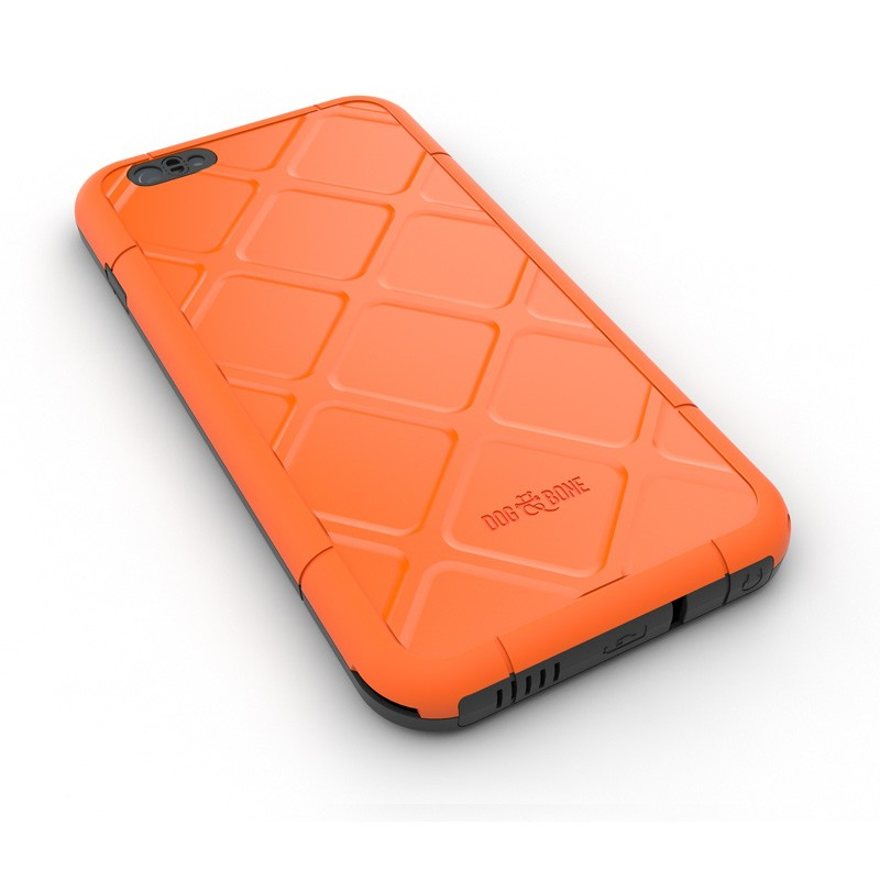 Dog and Bone Wetsuit Phone 6 Plus Orange - 2