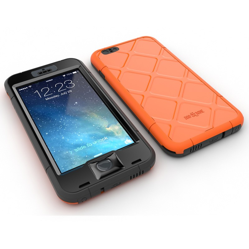 Dog and Bone Wetsuit Phone 6 Plus Orange - 3