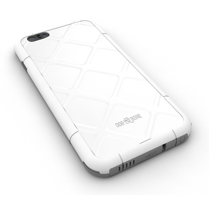 Dog and Bone Wetsuit Phone 6 Plus White - 2