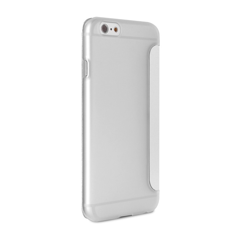 Puro - Eco Leather Wallet iPhone 6 Plus White - 5