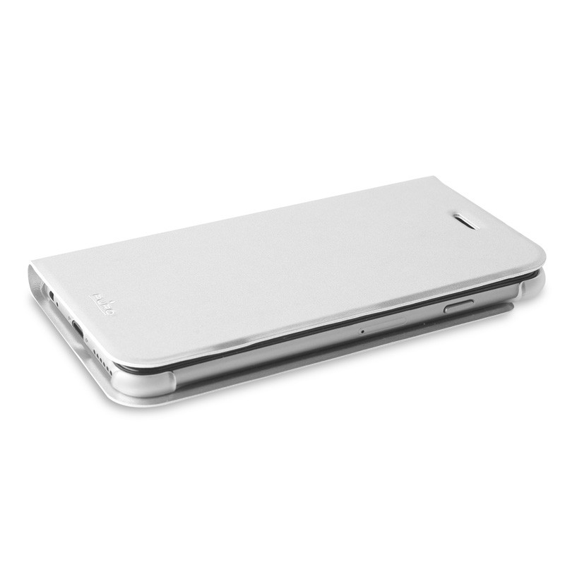 Puro Eco Leather Wallet iPhone 6 White - 8