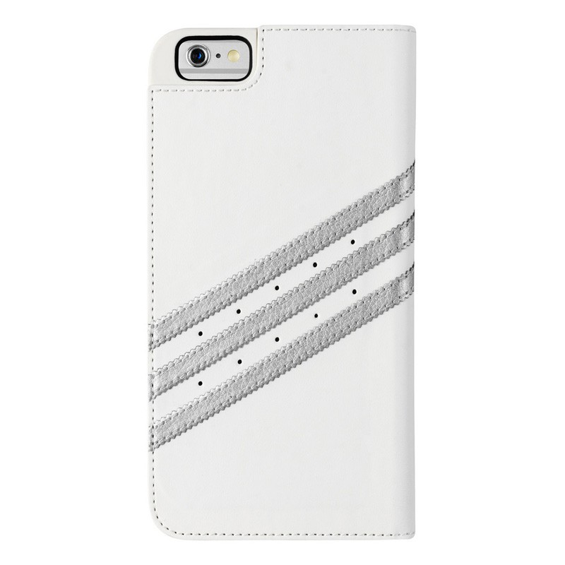Adidas Booklet Case iPhone 6 Plus White/Silver - 2