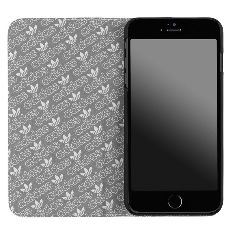 Adidas Booklet Case iPhone 6 Plus White/Silver - 3