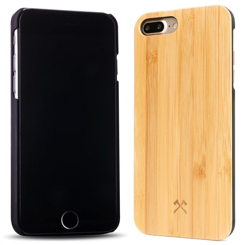 Woodcessories - EcoCase Classic iPhone 7 Plus Bamboo 02