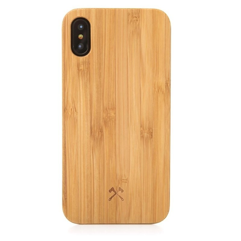 Woodcessories EcoCase Classic iPhone X/Xs Bamboo - 1