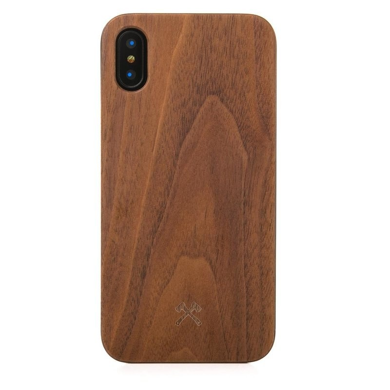 Woodcessories EcoCase Classic iPhone X/Xs Walnut - 1