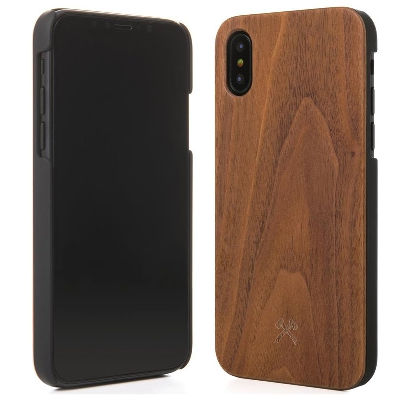 Woodcessories EcoCase Classic iPhone X/Xs Walnut - 2