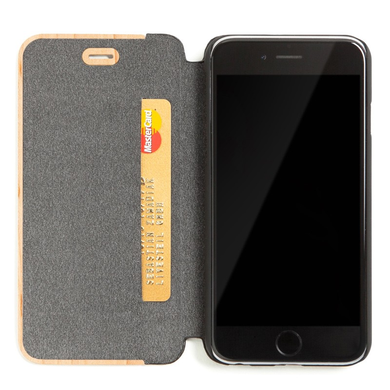 Woodcessories - EcoCase FlipCover iPhone 7 Maple 04