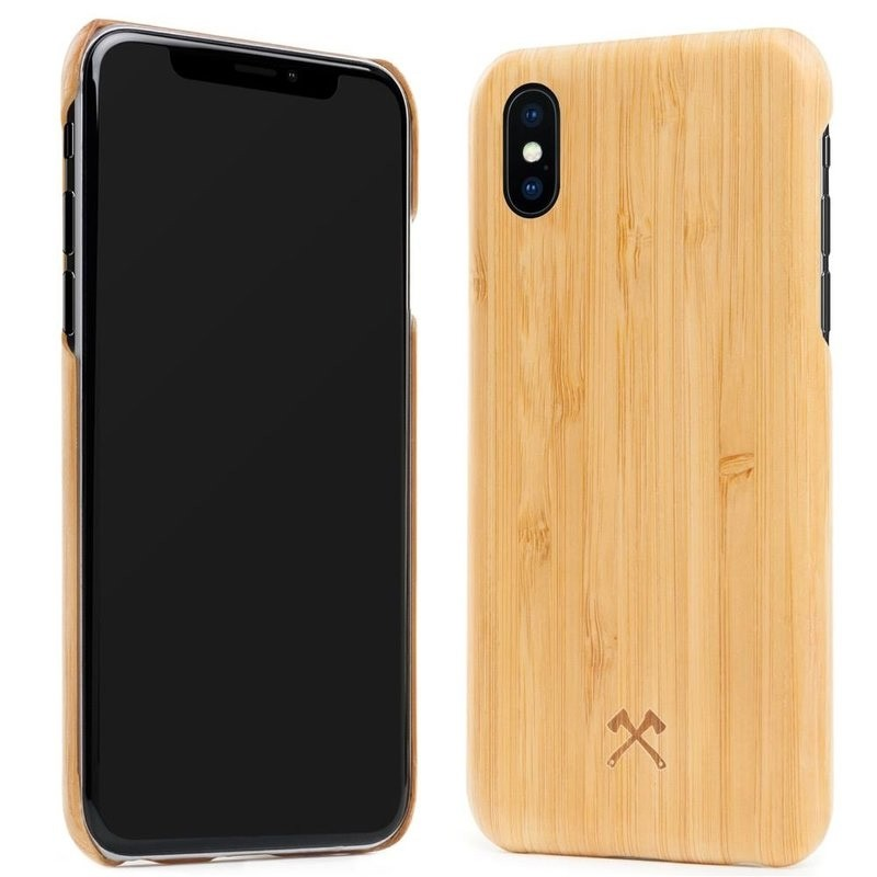 Woodcessories EcoCase Kevlar iPhone X/Xs Bamboo - 4