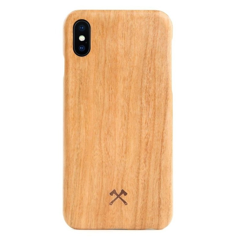 Woodcessories EcoCase Kevlar iPhone X Cherry - 1