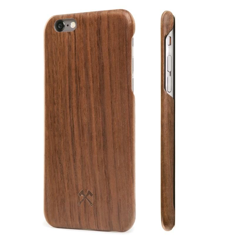 Woodcessories - EcoCase Kevlar iPhone 7 Walnoot 01