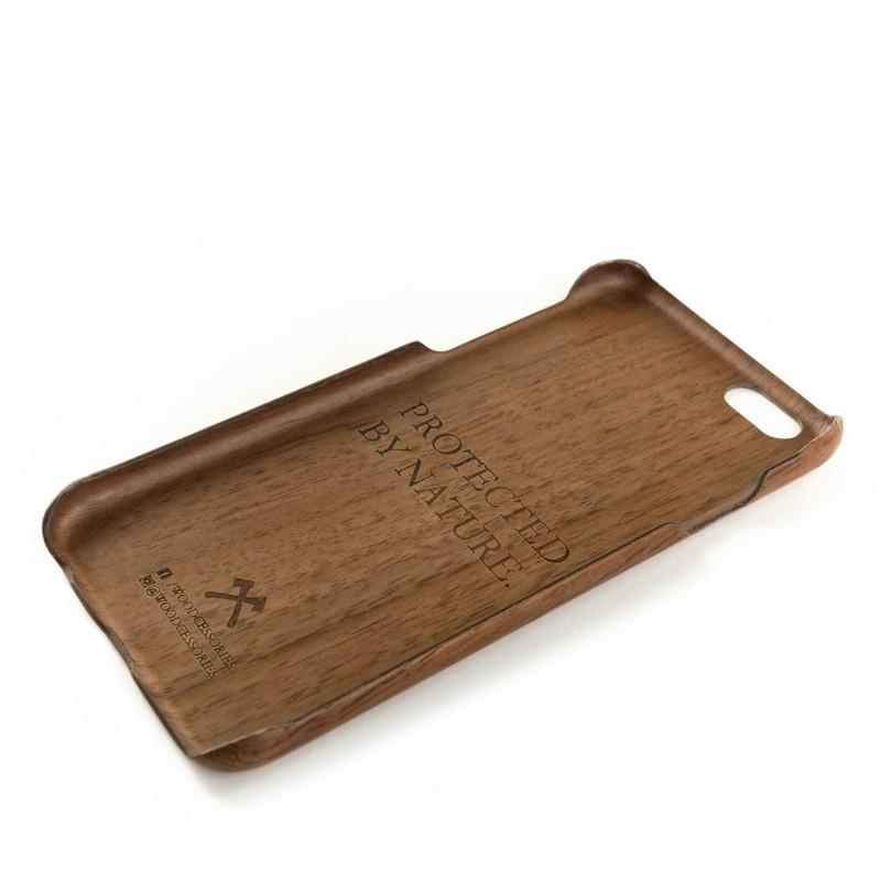 Woodcessories - EcoCase Kevlar iPhone 6/6S Walnoot 04