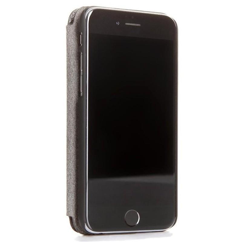 Woodcessories EcoFlip iPhone XS Max Houten Hoesje Walnoot 02