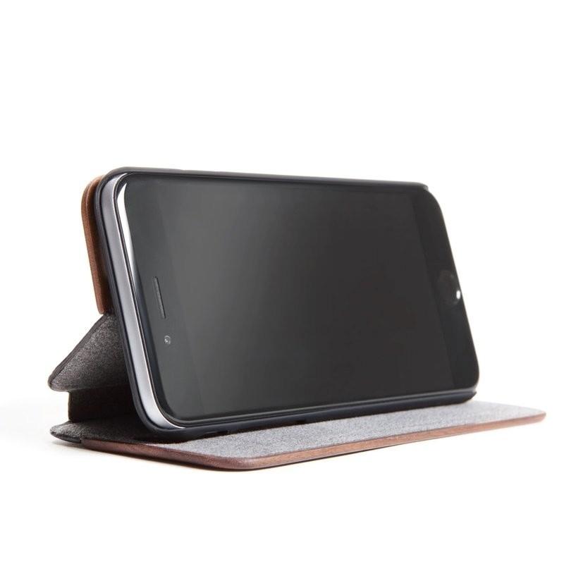 Woodcessories EcoFlip iPhone XS Max Houten Hoesje Walnoot 04