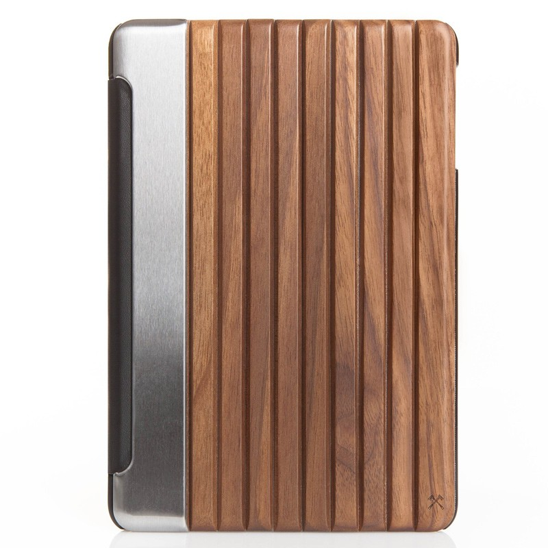 Woodcessories - EcoGuard iPad Pro 9,7 Walnoot 01