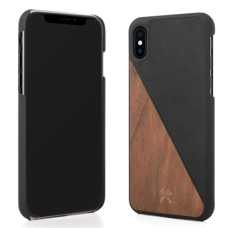 Woodcessories EcoSplit  iPhone X/Xs Walnut/Black - 3