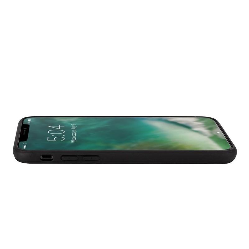 Xqisit Card Case iPhone XR Max Hoesje Zwart Grijs 04