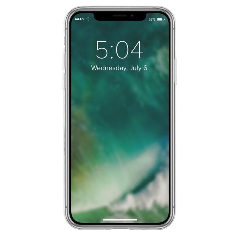 Xqisit FlexCase Transparant iPhone XR Hoesje Transparant 02