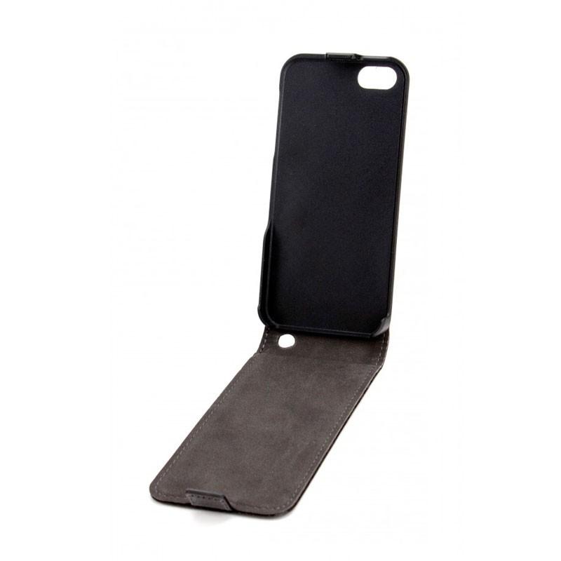 Xqisit FlipCover iPhone 5 (Black) 02