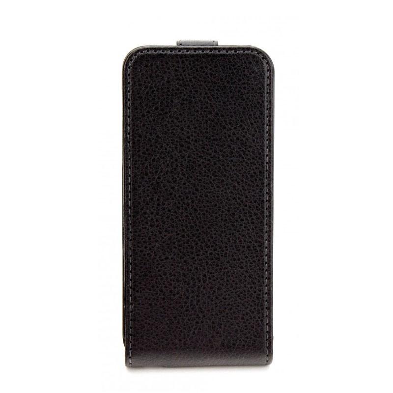 Xqisit FlipCover iPhone 5 (Black) 01