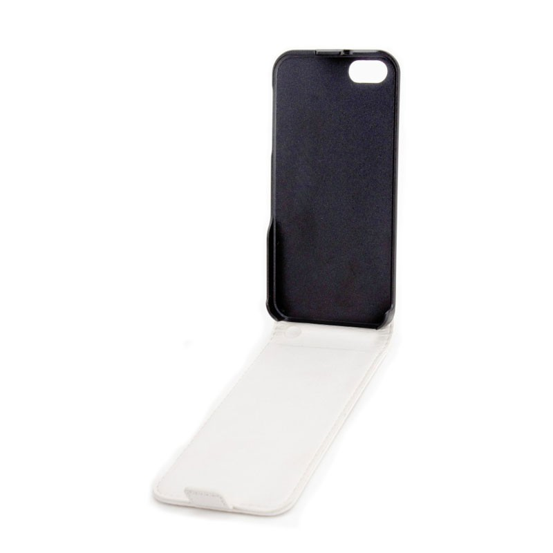 Xqisit FlipCover iPhone 5 (White) 02
