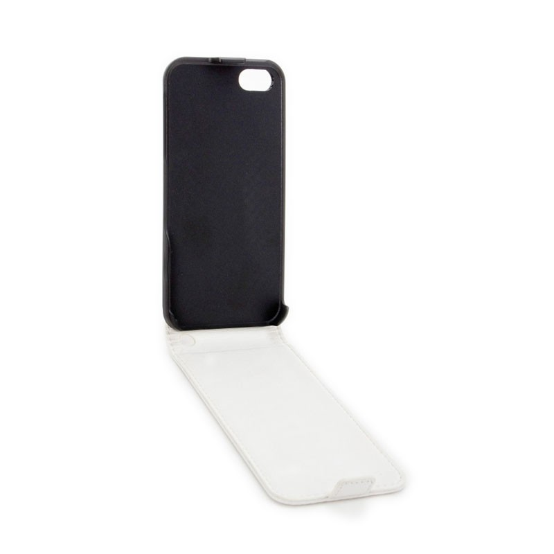 Xqisit FlipCover iPhone 5 (White) 03