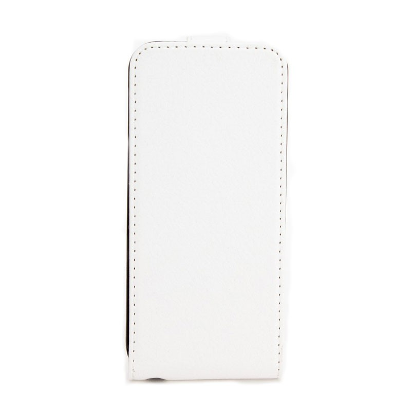 Xqisit FlipCover iPhone 5 (White) 01