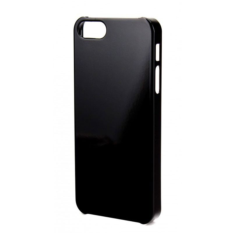 Xqisit iPlate Glossy iPhone 5 (Black) 03