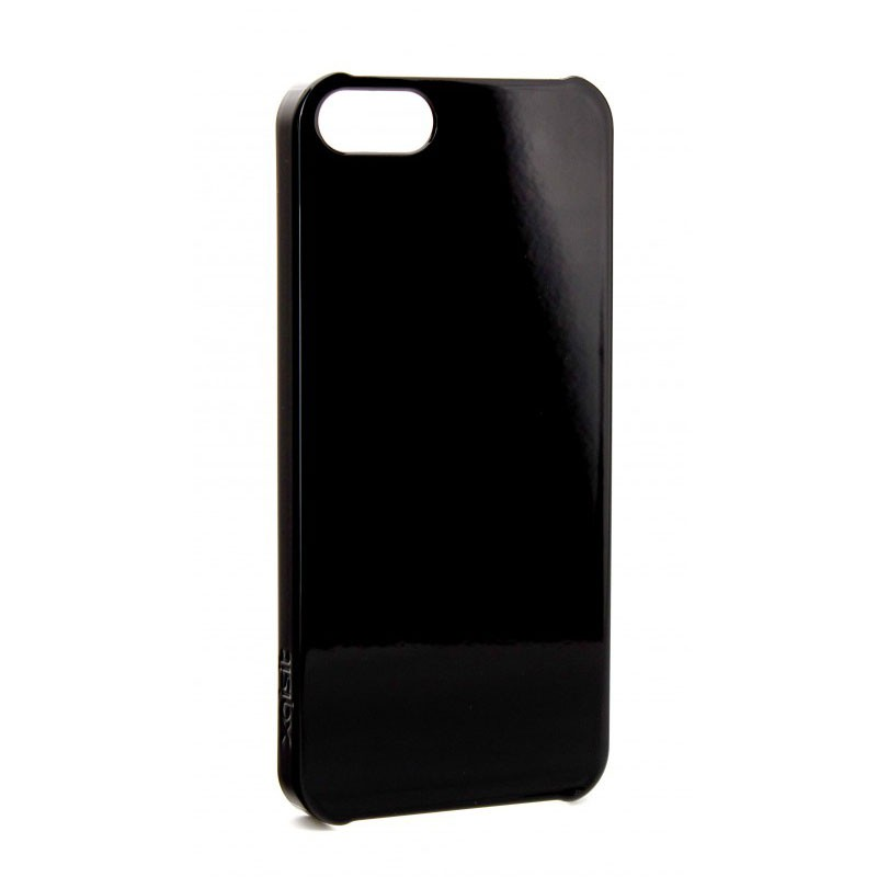 Xqisit iPlate Glossy iPhone 5 (Black) 01