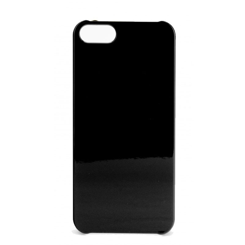 Xqisit iPlate Glossy iPhone 5 (Black) 02