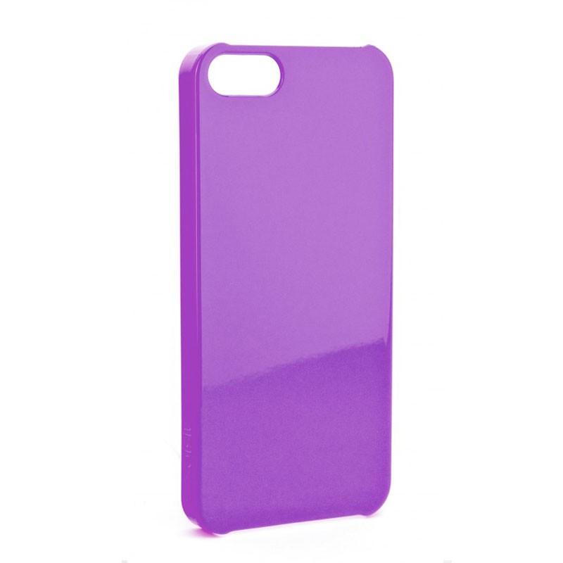 Xqisit iPlate Glossy iPhone 5 (Purple) 01