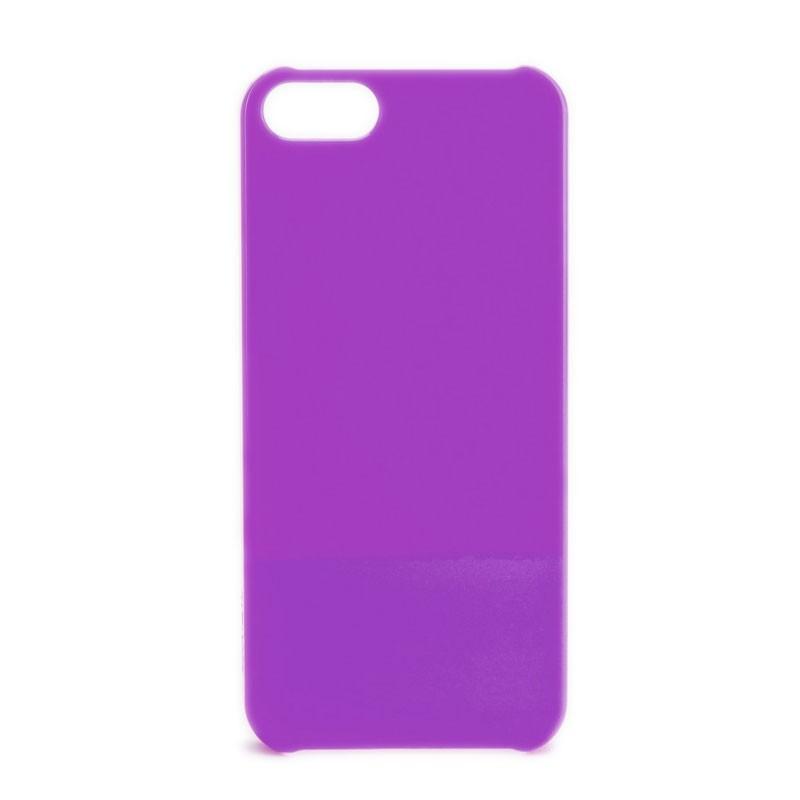 Xqisit iPlate Glossy iPhone 5 (Purple) 02